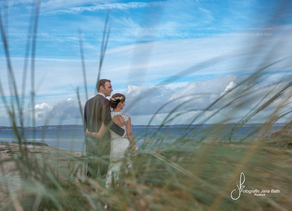 Brautpaar am Timmendorfer Strand - Fotografin Jana Bath