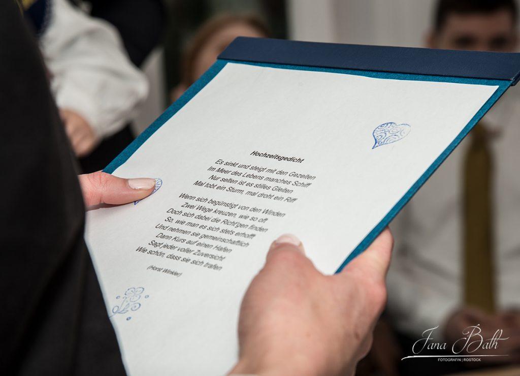 Hochzeitsdetails, Hochzeitsgedicht, Jana Bath